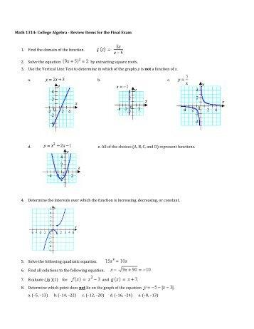 College Math Placement Test Practice & Tips - TestPrep-Online