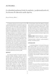 Segunda época / Número 36 / 2008 - Publicaciones - Universidad ...