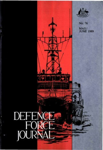 ISSUE 76 : May/Jun - 1989 - Australian Defence Force Journal