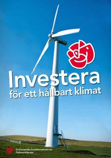 för ett hållbart klimat - Socialdemokraterna