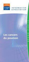 Les cancers du poumon - Onconet