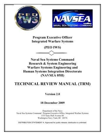 TECHNICAL REVIEW MANUAL (TRM) - AcqNotes.com