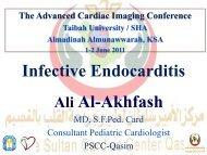 Infective Endocarditis Ali Al-Akhfash - Sha-conferences.com