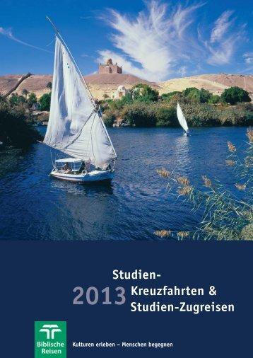 Studien-Kreuzfahrten 2013 (pdf, 4,9 MB) - bei Biblische Reisen ...