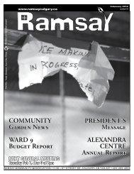 February - Ramsay Community Association in Calgary