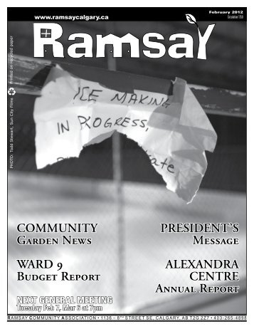 February - Ramsay Community Association in Calgary