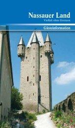 Informationen von AZ - Touristik im Nassauer Land