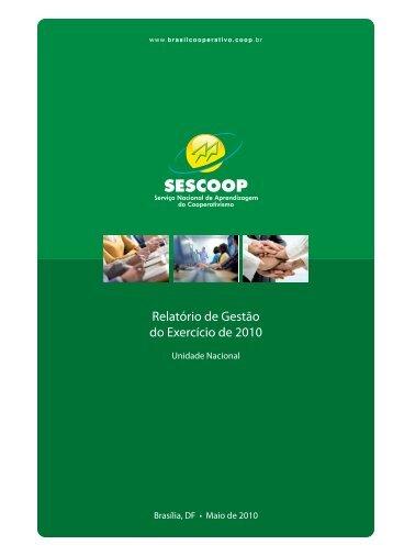 Relatório de Gestão do Exercício de 2010