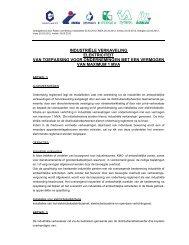 Reglement industriële verkavelingen - Eandis