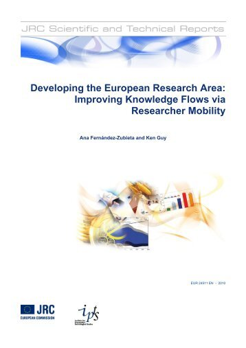 Developing the European Research Area: Improving Knowledge ...
