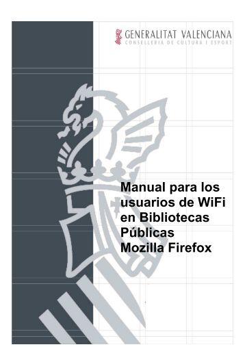 Informe Manual usuario Firefox - gva