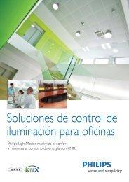 Soluciones de control de iluminación para oficinas - Philips