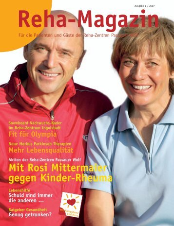 Unsere Kompetenz - reha-magazin.de