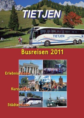 Busreisen 2011