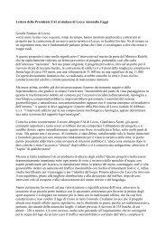 Leggi la lettera della Presidente FAI