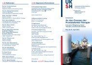 Flyer Symposium - Urologie Kiel