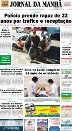 Polícia prende rapaz de 22 anos por tráfico e ... - Jornal da Manhã