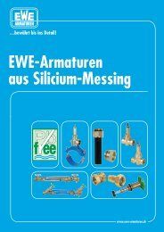 EWE-Armaturen aus Silicium-Messing
