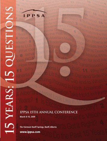 IPPSA Conference Brochure - WSPP