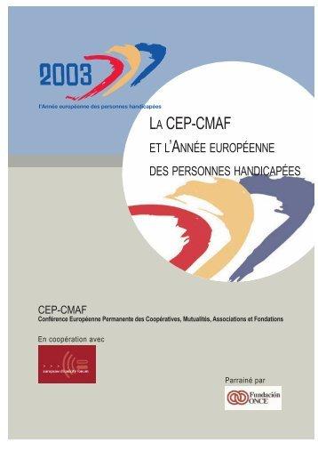 La CEP-CMAF et l'année européenne des personnes ... - CFHE