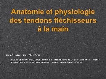 Tendons fléchisseurs C. Couturier - ClubOrtho.fr