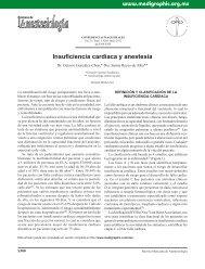 Insuficiencia cardíaca y anestesia - edigraphic.com