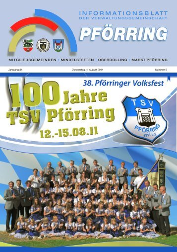 Informationsblatt-2011-08 - Markt Pförring