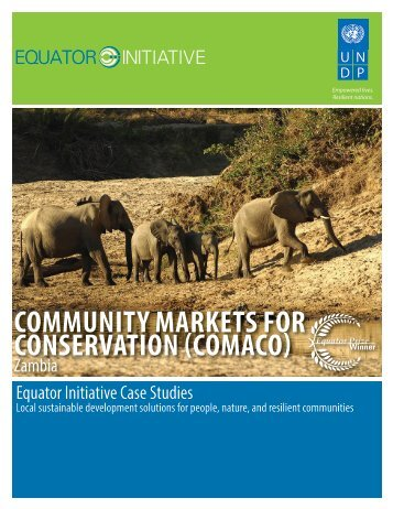 Community Markets for Conservation - The GEF Small Grants ...