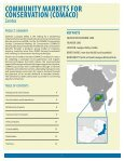 Community Markets for Conservation - The GEF Small Grants ... - Page 3