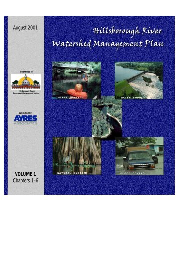 Volume 1 - Hillsborough County & City of Tampa Water Atlas