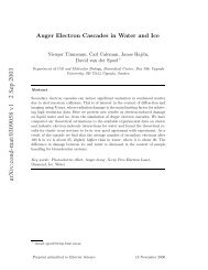 arXiv:cond-mat/0309058 v1 2 Sep 2003 - Structural Biology Labs