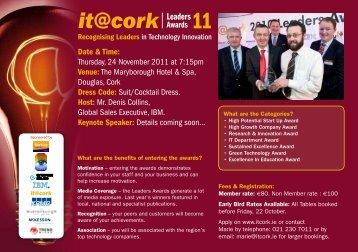 Leaders - IT@Cork