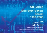 II. Entwicklung der Schule - Max-Eyth-Schule