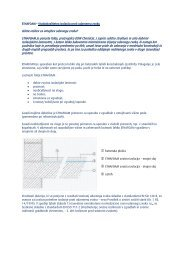 Ethafoam - Visokokvalitetna izolacija proti udarnem zvoku - Ravago
