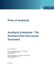 Heading title style - Ports of Auckland