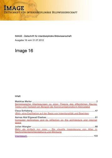 Image 16 - Gesellschaft für interdisziplinäre Bildwissenschaft