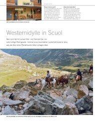Westernidylle in Scuol - San Jon