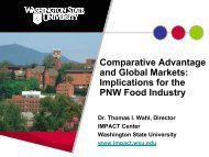 Comparative Advantage and Global Markets - IMPACT Center ...