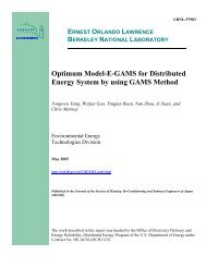 Optimum Model-E-GAMS for Distributed Energy System by using ...