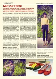 Mut zur Farbe - Birseck Magazin