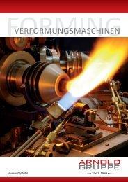 VERFORMUNGSMASCHINEN - Arnold Gruppe