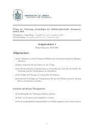 Übungszettel 1: Schall, Frequenz, Amplitude, Gehör [pdf]
