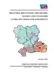 Landscape Character Assessment - Chelmsford Borough Council