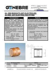 Art. 3860 MANGUITO ANTI ELECTROLISIS Art.3860 ANTI ... - TDM