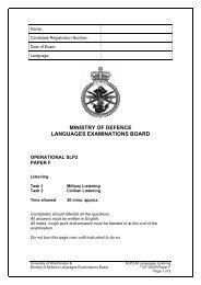 SLP 2 - University of Westminster