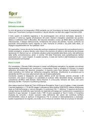 Bilancio 2008 sito - Fiper