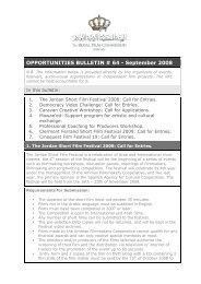 Opportunities Bulletins # 64 Septemper - The Royal Film ...