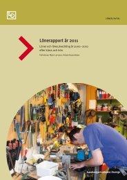 Lönerapport år 2011 - LO