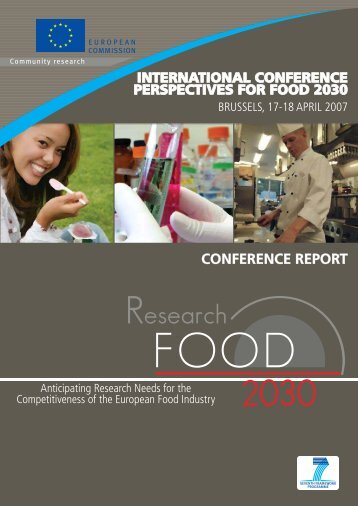 perspectives for food 2030 - Enterprise Europe Network