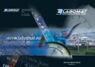 Téléchargez notre documentation détaillée sur nos ... - Labomat